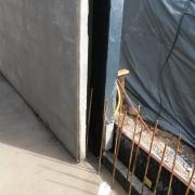 Bild 10 Stellen Kellerwände für wasserundurchlässige Kellerkonstruktion