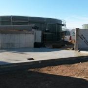 Bild 16 Betonarbeiten Biogasanlage