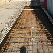 Bild 17  Bodenplattenbau für Vorwärmboxen