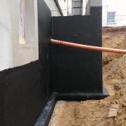 Bild 4 Abdichtung nach Neubau Kellertreppe
